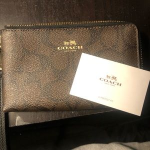 Coach Wallet with Wristlet